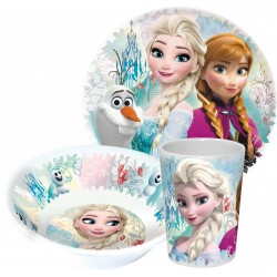 Set melamina Frozen