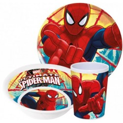 Set melamina Spiderman
